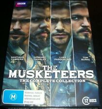 The Musketeers The Complete Collection Series 1 2 3 (Australia Region 4) DVD NEW