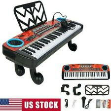 New listing 49 Keys Multifunction Electronic Piano Kids Keyboard Music With Microphone Toys
