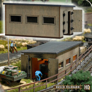 Busch 12380 Locomotora Depósito Locomotoras, Kit Construcción, H0