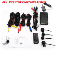 Car 360 Surround View System Bird View Panorama Parking Security Record