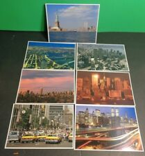 1991 NEW YORK CITY POSTCARDS UNUSED CHOOSE 1 WORLD TRADE CENTER EMPIRE STATE BLD