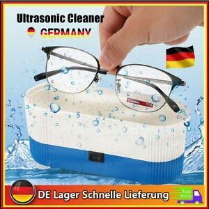 Digital Ultraschallreiniger Reinigungsgerät Brillen Schmuck Uhren Reiniger DHL