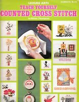 Teach Yourself Counted Cross Stitch | Leisure Arts 52