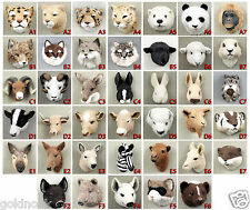 (4) DIFFERENT ANIMAL FUR MAGNETS FROM FIRST PHOTO BLOCK! OUR CHOICE.CLOSEOUT LOT