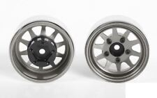"OEM Stamped Steel 1.55"" Beadlock Wheels PLAIN Z-W0258 RC4WD 12mm HEX TF2 G2"