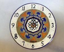 Ceramic Majolica Wall Clock Made in Malta