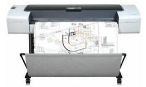 "HP Designjet T610 44"" A0 CAD Plotter - Q6712A"