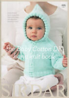 The Snuggly Baby Cotton DK Hand Knit Book Knitting Patterns Sirdar 446