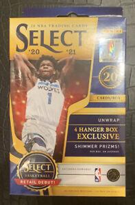 2020-21 Panini Select NBA Basketball Hanger Box Brand New Factory Sealed