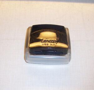Lexar Professional USB 3.0 Dual-Slot Reader model LRW300U REV D, Compact Flash