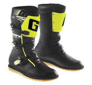 Gaerne SG Balance Classic ATV MX Trials TT Adventure Racing Boot Black/Neon