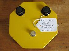Alnicomagnet Germanium AC128 Fuzz Face Clone Hand Built 2014 Prototype