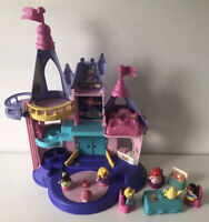 Fisher Price Little People Disney Princess Musical Dancing Palace & Characters