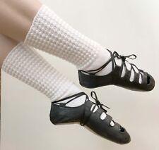 NEW Antonio Pacelli Essential Irish Dance Soft Shoes sz 3.5 Pumps Ghillies Light