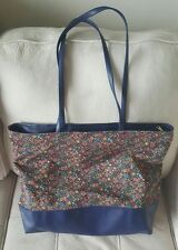 The Original Pocketbag Handbag Bag Purse Pocket Book Navy Floral Satchel Purse