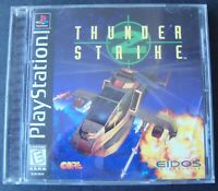 THUNDER STRIKE 2 PS1 SONY PLAYSTATION VIDEO GAME WORKING