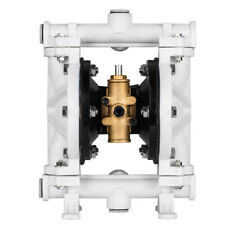 """1/2"""" Air-Operated Double Diaphragm Pump Membrane Pump 13Gpm 150F Industrial Use"""