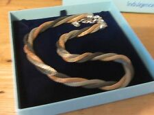 Box - Lovely Gift New Silver/Gold/Black Metal Necklace in