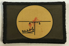 Russian PSO Dragonov Sniper Scope Morale Patch Tactical Military Army Hook Flag
