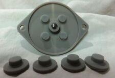 Sega Genesis 3-Button Controller [MK-1650] Repair Kit Conductive Pads Lot of 50