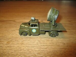TEKNO DENMARK-NO.955-MILITARY CHEVROLET TRUCK WITH SEARCH LAMP  -1950´s.