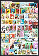 Burkina  Faso  gros lot de timbres neuf **  cote plus de 380 euro