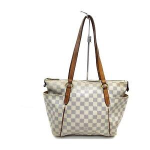 Louis Vuitton LV Shoulder Bag N51261TotallyPM White Damier Azul 1729936