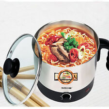 Electric Kettle Cooking Ramen Ramyun Pot Coffee Noodle Hot Water Pot Cookware