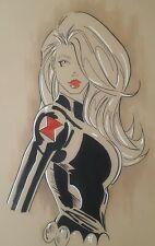 Black Widow/Avengers Original Artwork 11x17