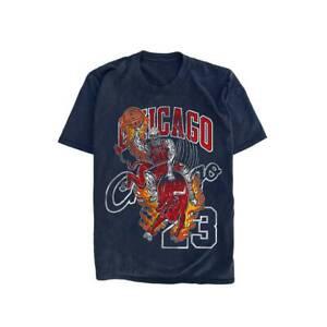 Warren Lotas Chicago Bulls T Shirt Vintage Gift For Men Women Funny Navy Tee