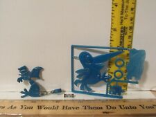 Vintage 2 General Mills & Gfc Blue Cocoa Puff & Other? Toy Premium Cereal Prize