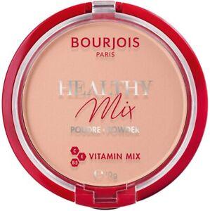 BOURJOIS HEALTHY MIX POWDER WITH VITAMIN MIX 10g  --Choose shade---