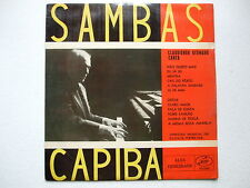 CLAUDIONOR GERMANO - SAMBAS DE CAPIBA LP 1st MONO 1959 BRAZIL FOLK FREVO SAMBA