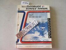 1979 EVINRUDE 25 / 35 HP Motor Engine Service Manual