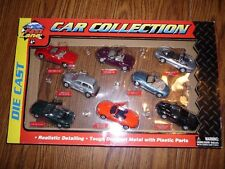 Fast Lane Die Cast Car Collection with Mustang Mach Iii