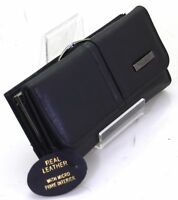Lorenz Women Large REAL LEATHER PURSE credit cards coin section wallet UK SELLER