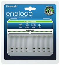 Panasonic Eneloop Battery Charger BQ-CC63 8 Slots AA AAA Smart EU PLUG