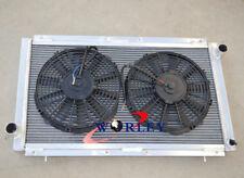 FOR SUBARU IMPREZA WRX GC/GC8 MT/MANUAL 2 ROW ALUMINUM RADIATOR + FANS