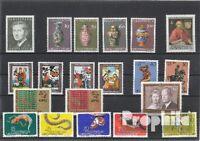 Briefmarken Liechtenstein postfrisch 1974 kompletter Jahrgang Liechtenstein xx 1