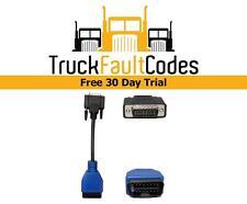 448013 441013 OBDII Adapter Cable for Nexiq USB Link 125032 Isuzu Hino Car Truck