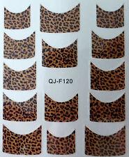 Accessoire ongles : nail art - Stickers décalcomanie - motifs panthère