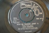 "EDDIE KENDRICKS   KEEP ON TRUCKIN    7""  MOTOWN  RECORDS    TMG 873"