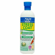 API Pond Stress Coat Tap Water Conditioner 16 Ounces