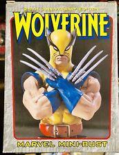 Marvel X-Men Wolverine Signature Edition Variant Bowen Mini Bust Statue, Rare!