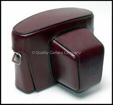 Leica R3/SL/SL2 Ever-Ready Burgundy Leather Case #14506