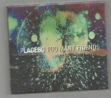 placebo - too many friends  digipack  cd  single  new/sealed
