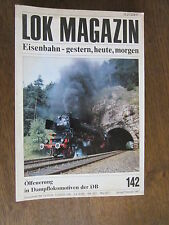 Lok Magazin 142 Ölfeuerung DB ÖBB Schienenbusse HeS Albanien Benzollok Elmshorn