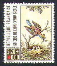 France 1989 Red Cross Fund/Health/Medical/Welfare/Paintings/Art/Birds 1v n38261