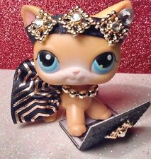 Littlest Pet Shop clothes accessories OUTFIT VALENTINE QUEEN BLACK/GOLD SKIRT