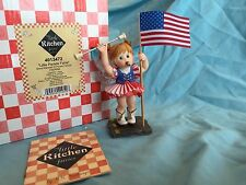 Enesco My Little Kitchen Fairies Parade Fairie 2008 Fairy 4th Of July  Patriotic